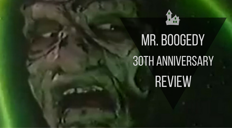 Mr Boogedy 30th Anniversary Review Jack skellington, king of halloween town, discovers christmas town, but his attempts to bring christmas to his home causes confusion. mr boogedy 30th anniversary review