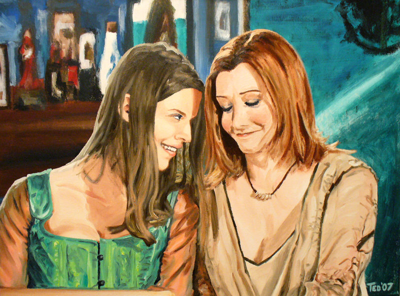 willow_and_tara_buffy_painting_by_tdastick