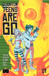 Quantum Teens Are Go Vol 1 Cover