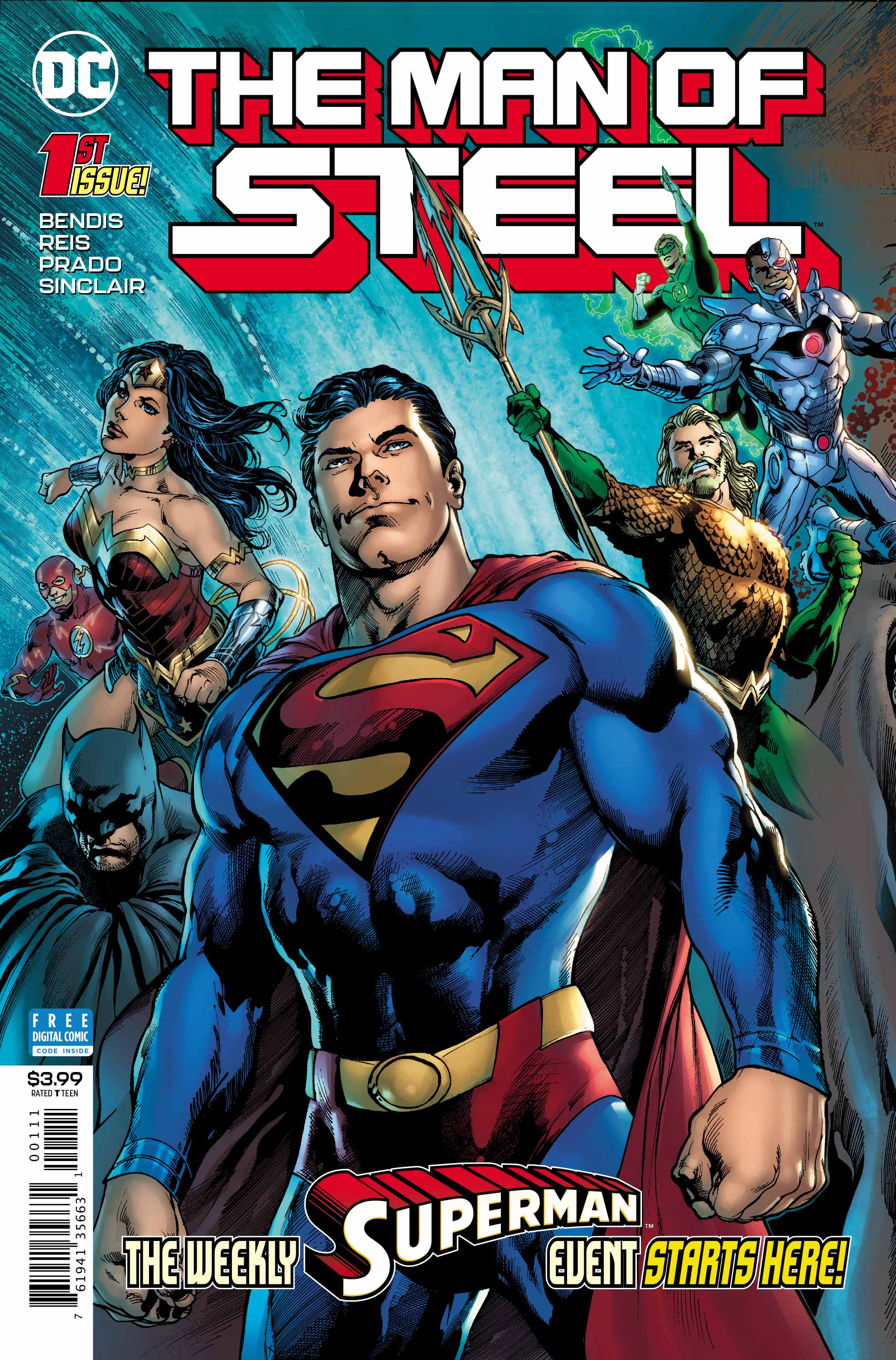 The Man of Steel #1 cover