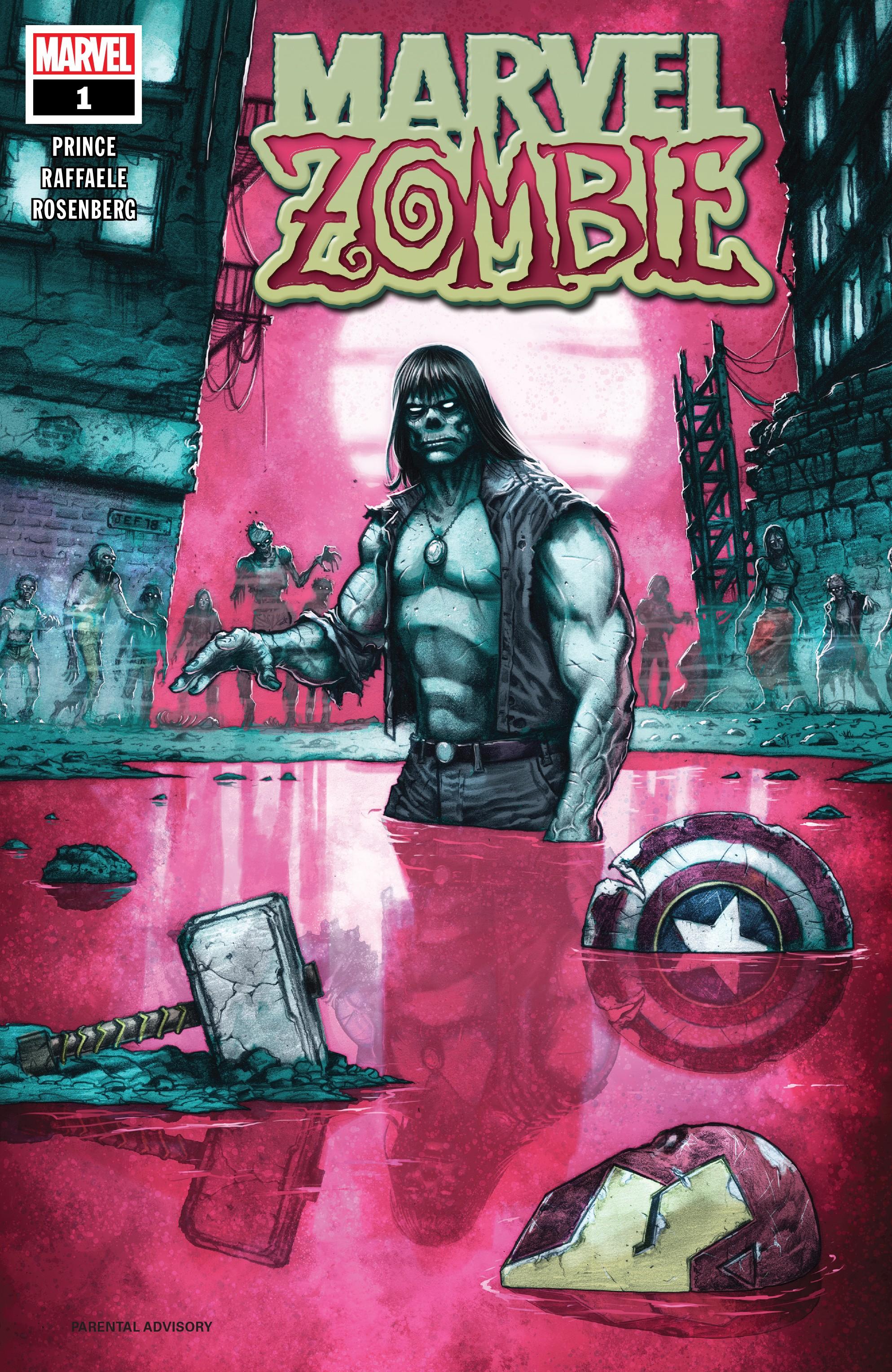 Marvel Zombie #1 cover