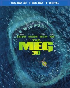 Movie poster for the blockbuster film The Meg (2018)