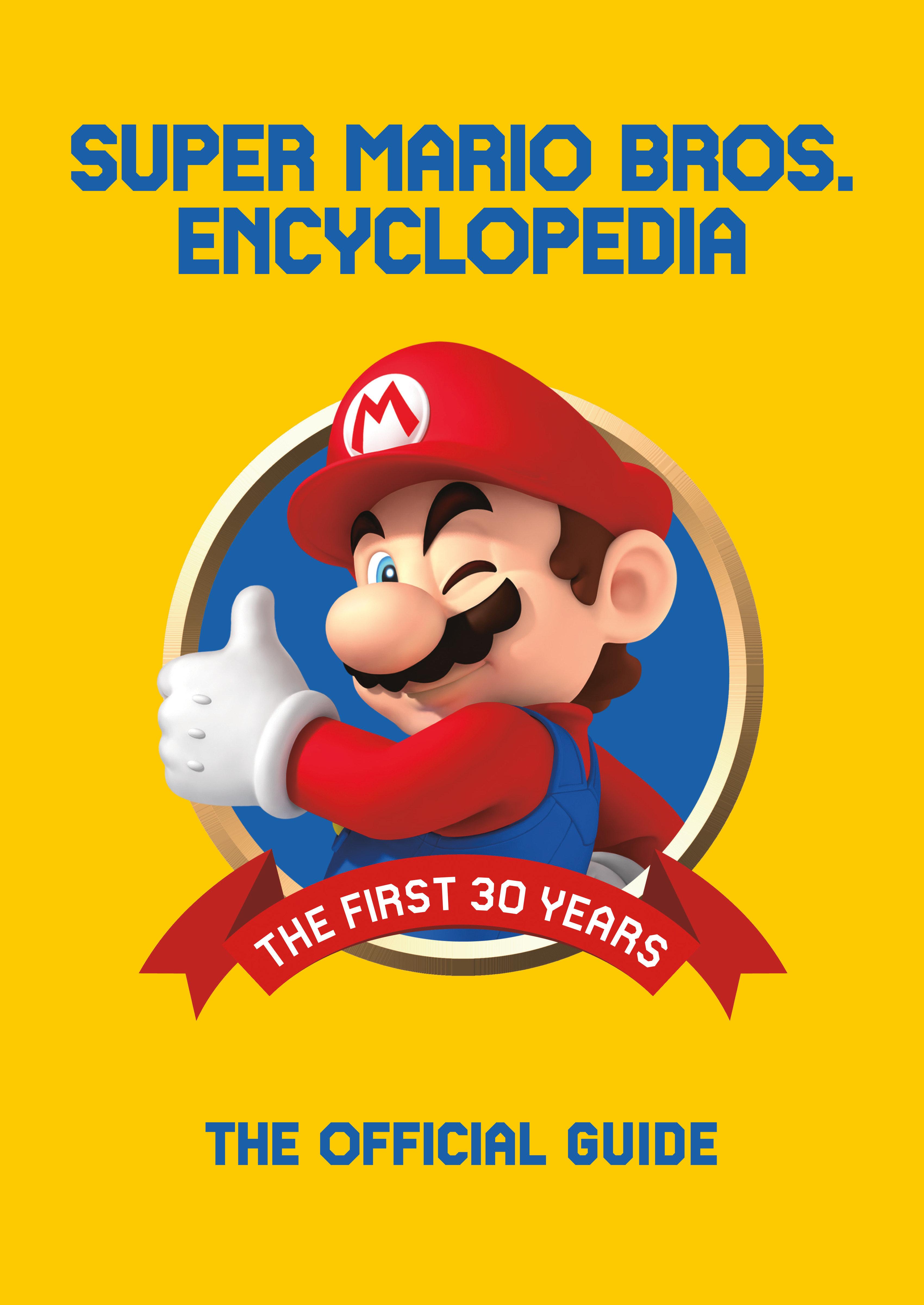 Super Mario Encyclopedia Cover