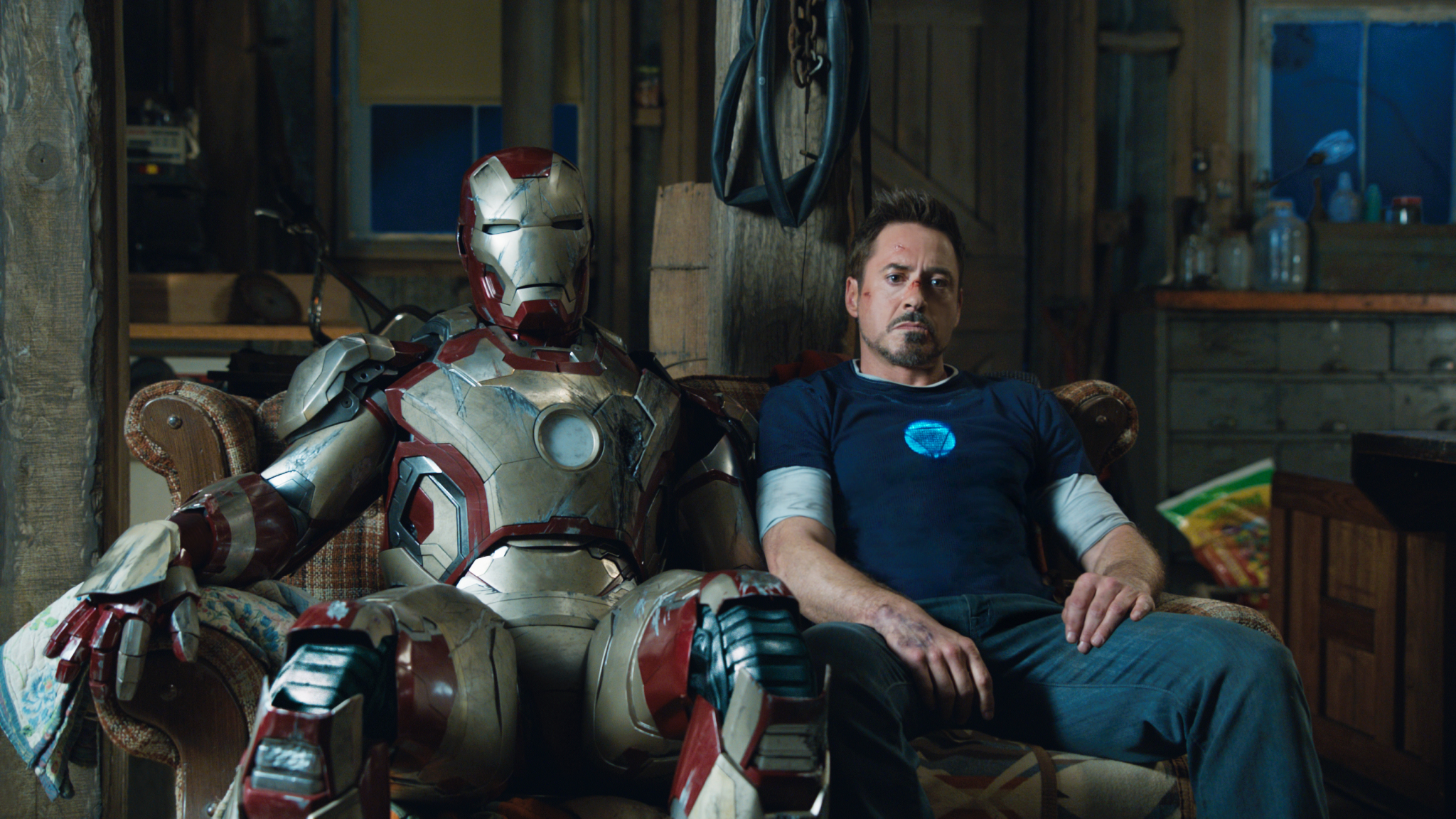Still of Robert Downey Jr. as Tony Stark in Iron Man 3