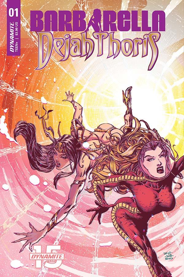 Barbarella/Dejah Thoris issue 1