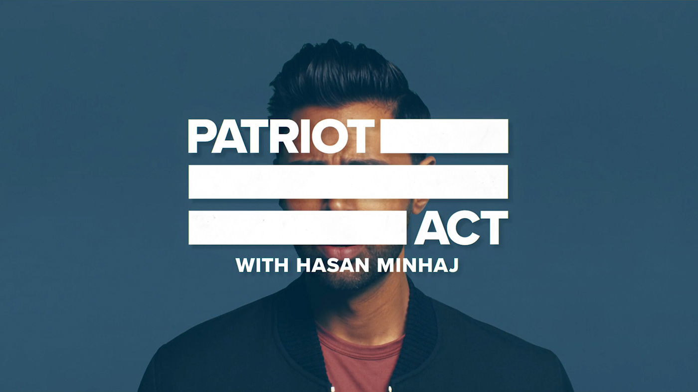 Poster for Patriot Act with Hasan Minhaj