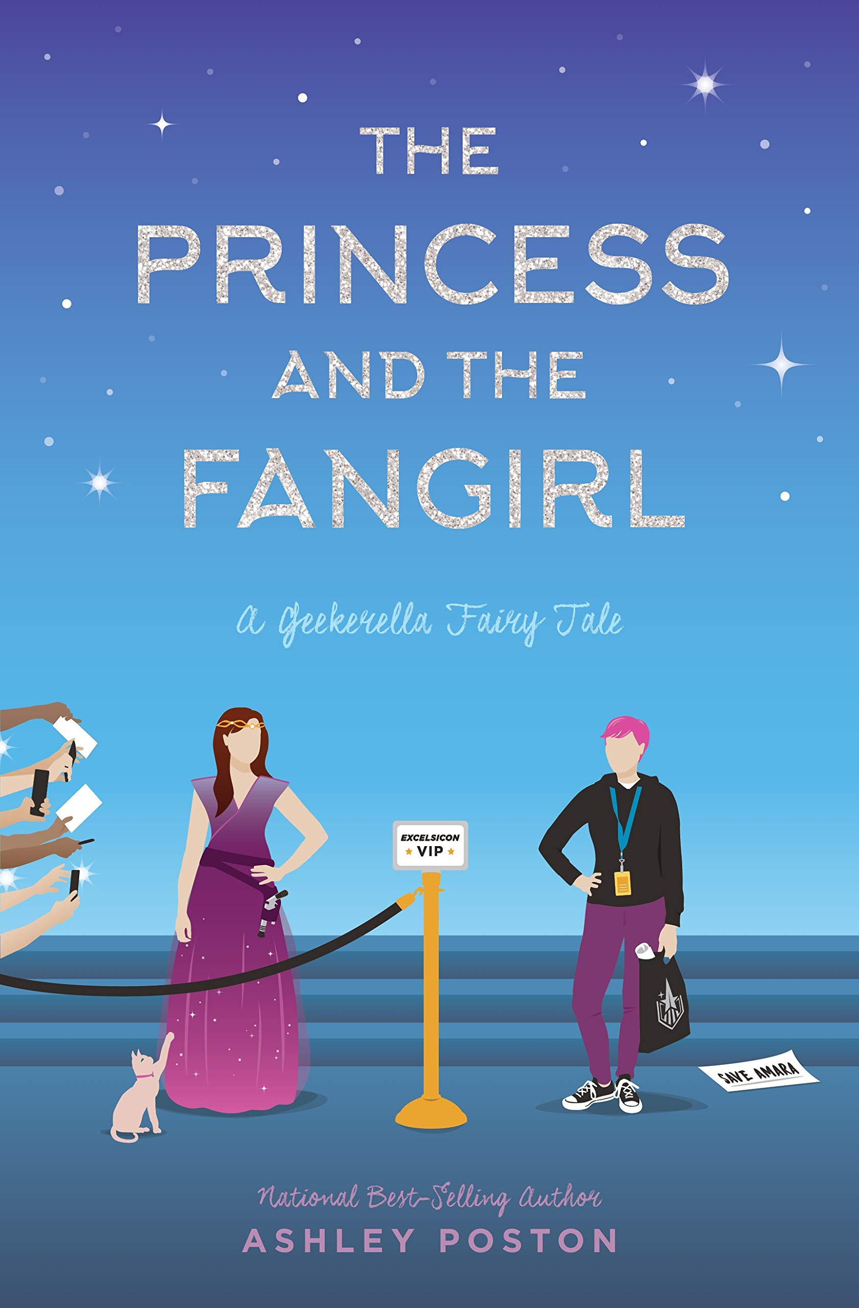 The Princess and the Fangirl by Ashley Poston Cover