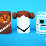 [MAY THE 4TH BE WITH YOU] STAR WARS CRAFTS TO DO WITH YOUR LITTLE YODAS