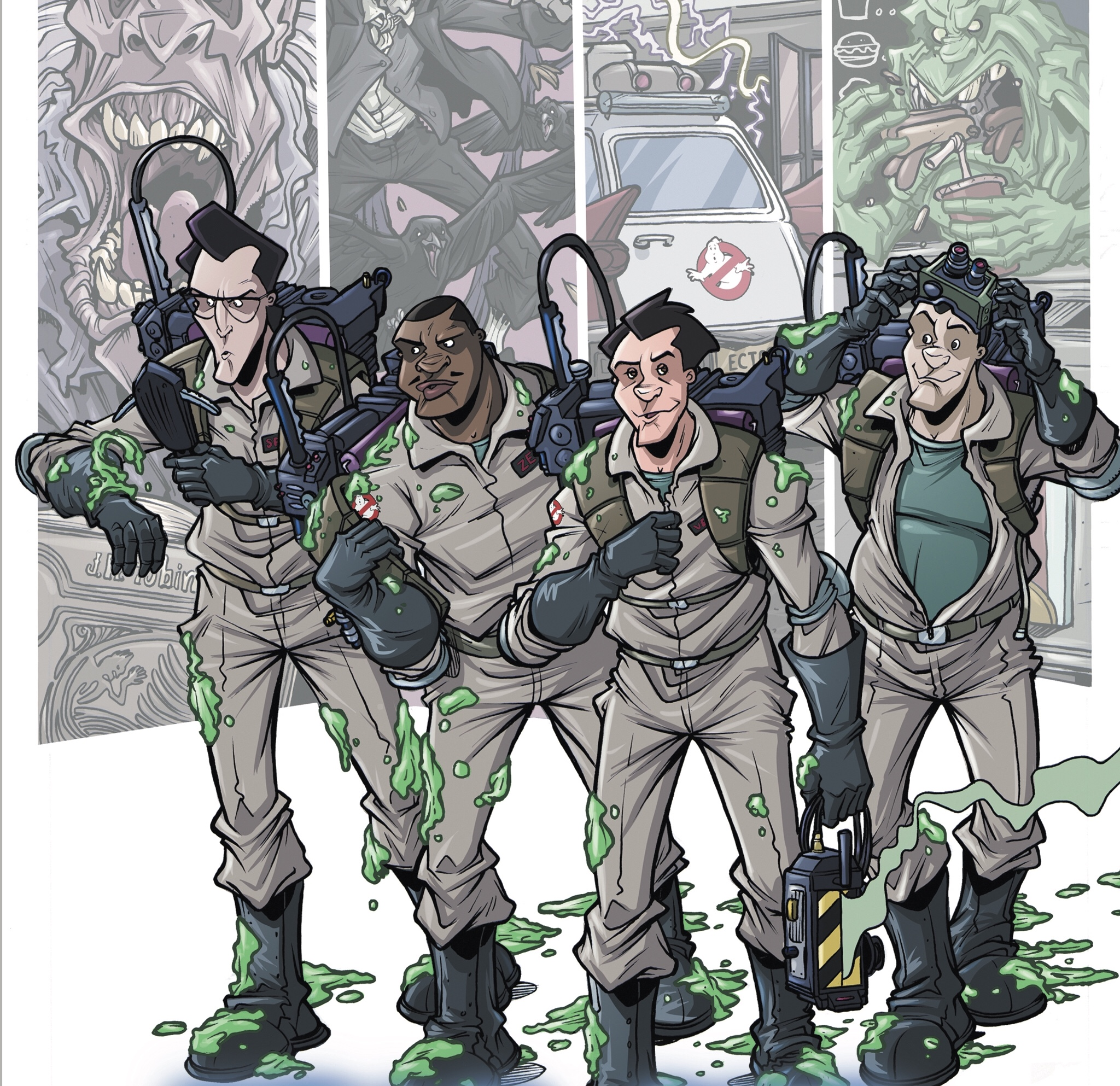 Ghostbusters: Year One #1