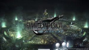 FF7 Remake Intro Screen