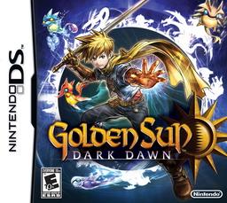Golden Sun Dark Dawn Title