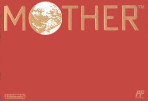 EarthBound Cover Title