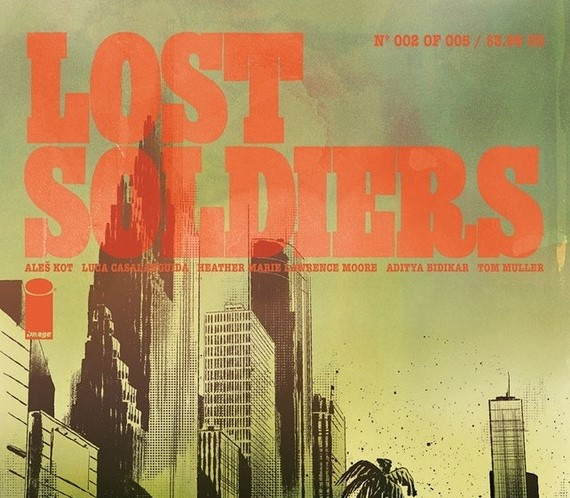 [REVIEW] 'LOST SOLDIERS' #2 REOPENS OLD WOUNDS