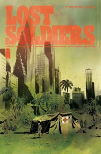 Lost Soldiers #2 Cover Art