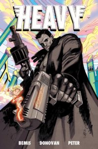 Heavy #1 comicbook cover art