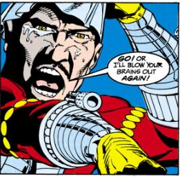 Deadshot takes the mask off