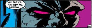 Darkseid revives Bernadeth