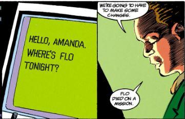 Oracle wonders where Flo is.