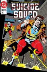 Suicide Squad #51 cover featuring deadshots