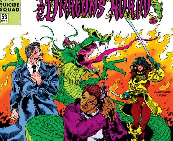 Suicide Squad #53 cover